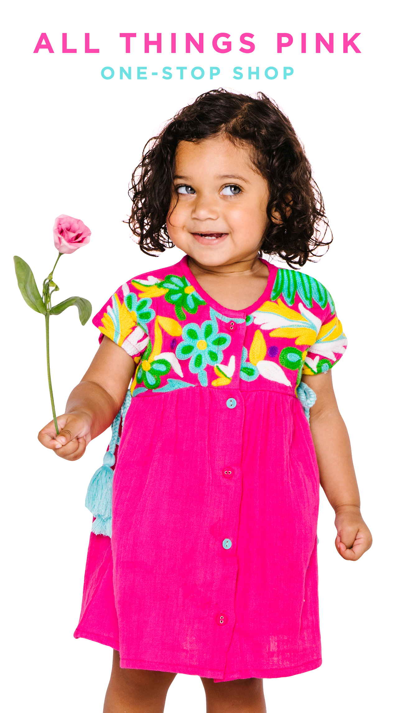Your one stop shop to all things pink for baby girls and girls